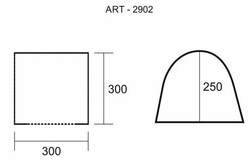 Палатка шатер с москитной сеткой Колеман 2902